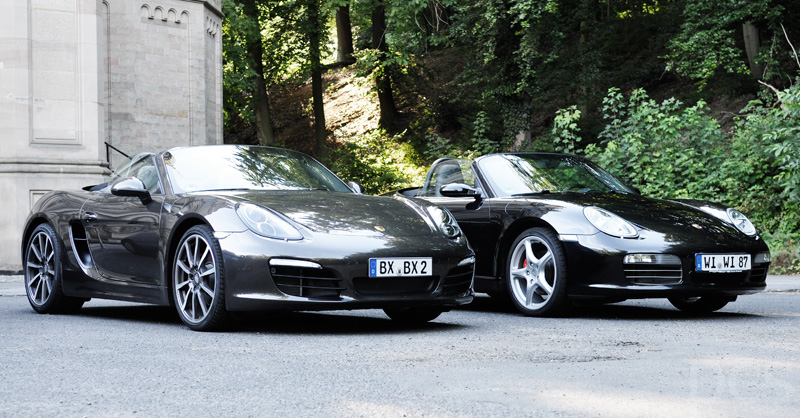 Shades Of Grey – PORSCHE BOXSTER 981 vs. 987