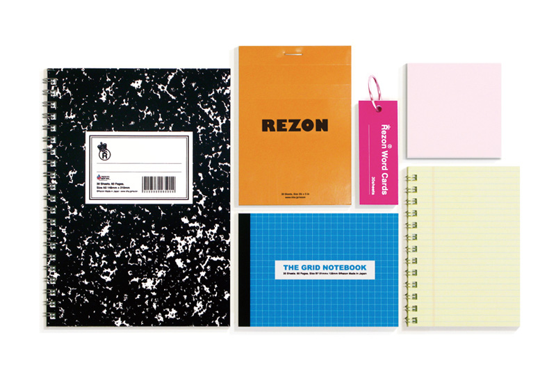 Rezon The Grid Multi Notebook