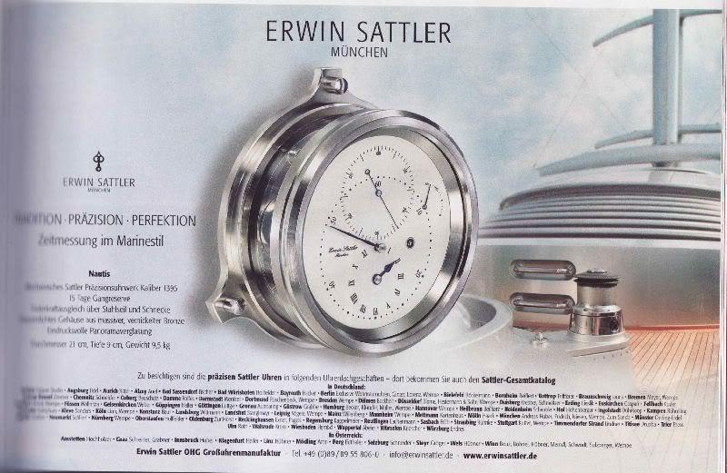 Sattler-Werbung