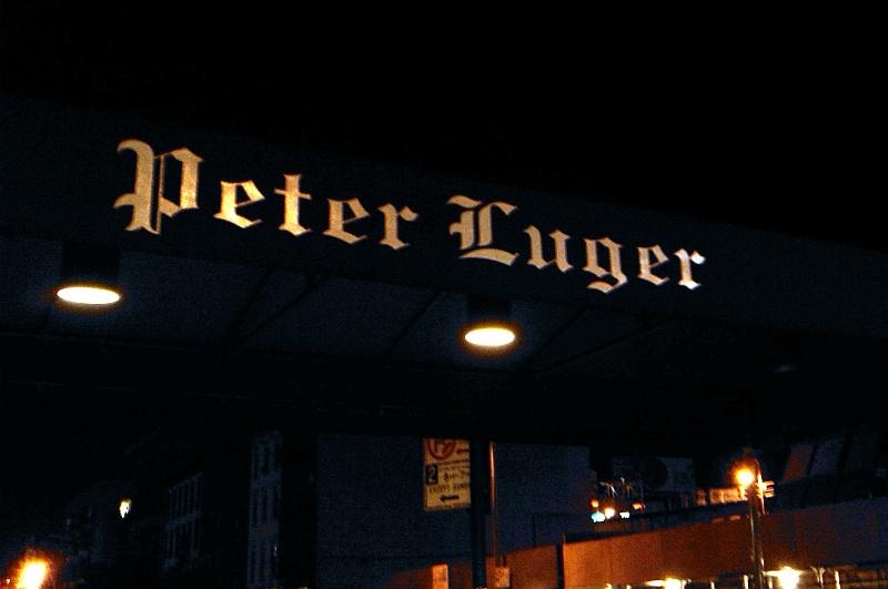 New York (S)trip – Peter Luger Steak House Brooklyn