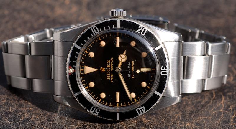 Rolex Submariner Ref. 6536-1 von 1958