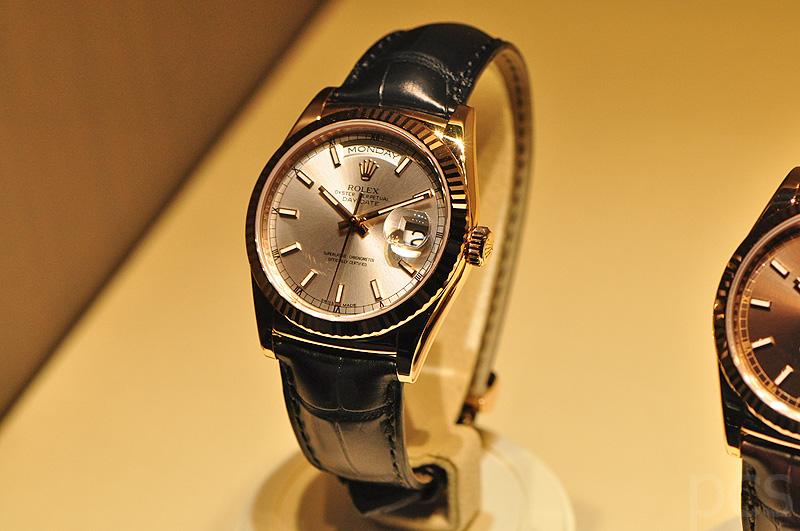 Rolex Uhr Mit Lederarmband