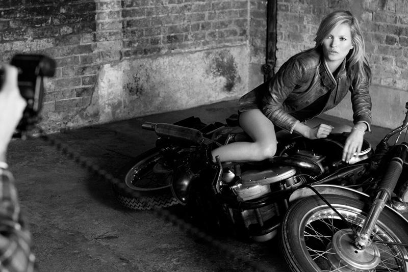 Kate Moss für Matchless