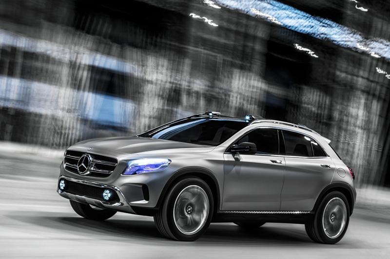 Mercedes GLA Concept – voll laser!