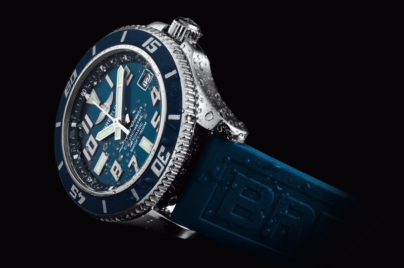 Breitling Superocean 42 in Blau