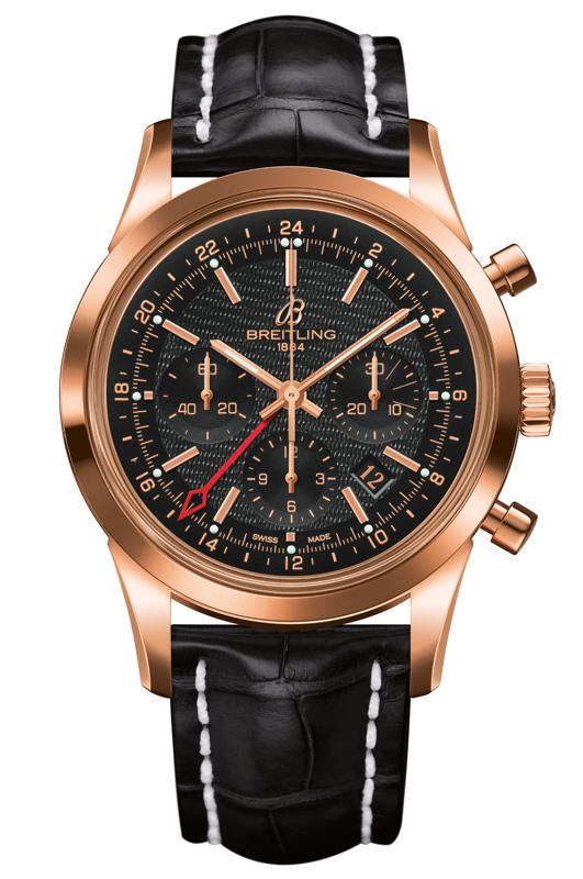 Breitling-Transocean-Chrono-GMT-Gold