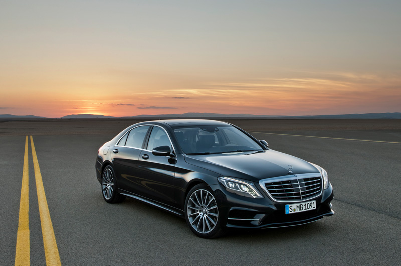 First look: die neue Mercedes S-Klasse
