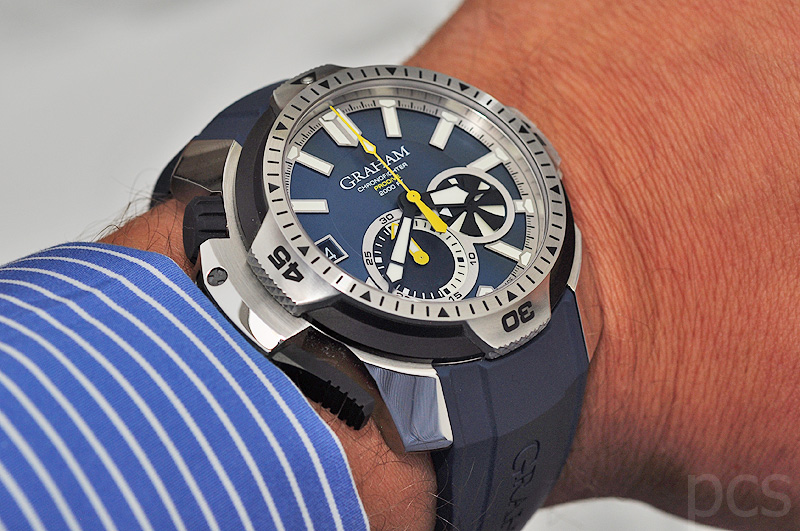 Hands-on Graham Chronofighter Prodive