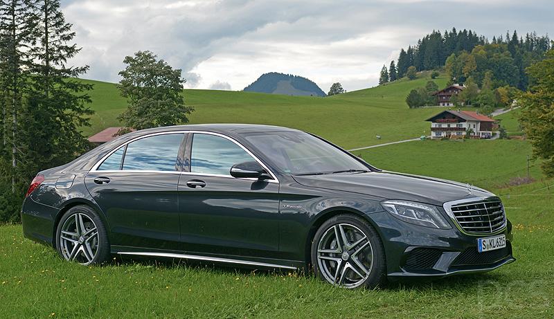 Der Mercedes S 63 AMG im luxify Test