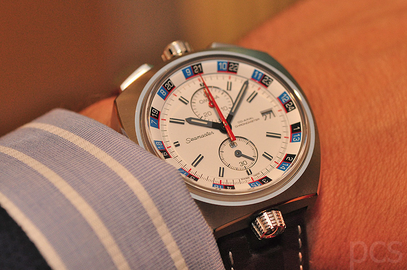 Hands-on Omega Seamaster Bullhead