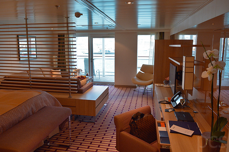 SPA Suite auf MS Europa 2