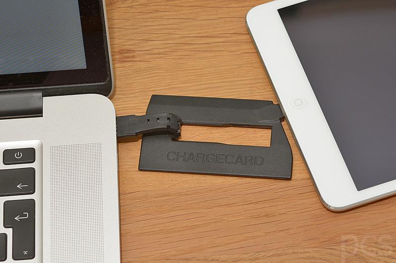 ChargeCard für Apple Lightning Devices