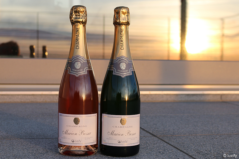 Champagne Marion-Bosser for luxify – Blanc & Rosé