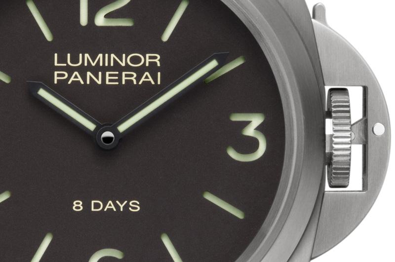 Panerai: neuen Luminor Base und Marina 8 Days