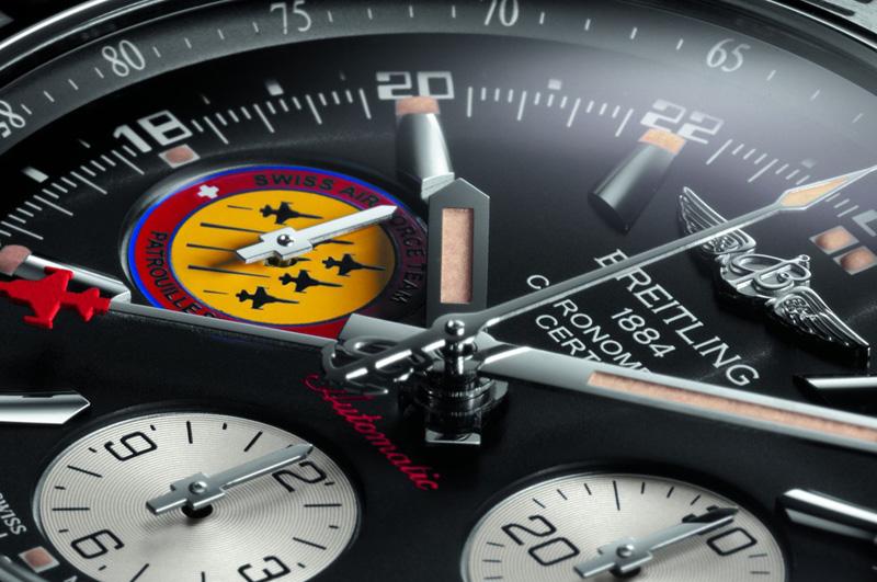 Breitling Chronomat 44 GMT Patrouille Suisse