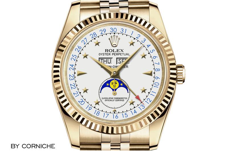 Baselworld 2014: Rolex, das Wasser und der Mond