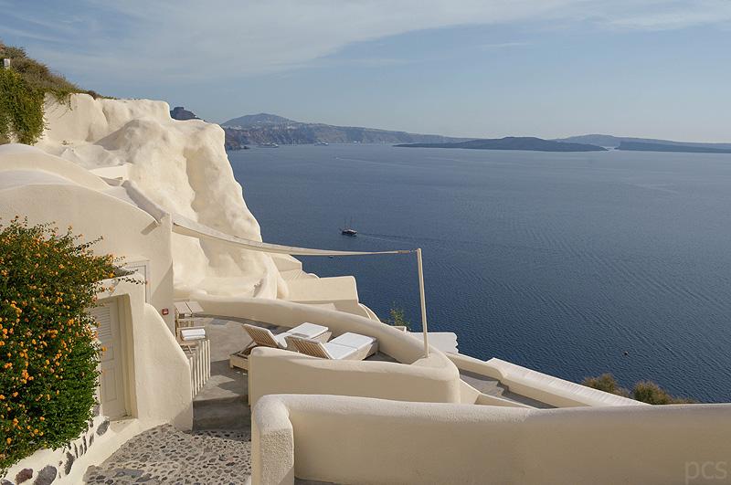 Hotelvorstellung: mystique, Oia, Santorini