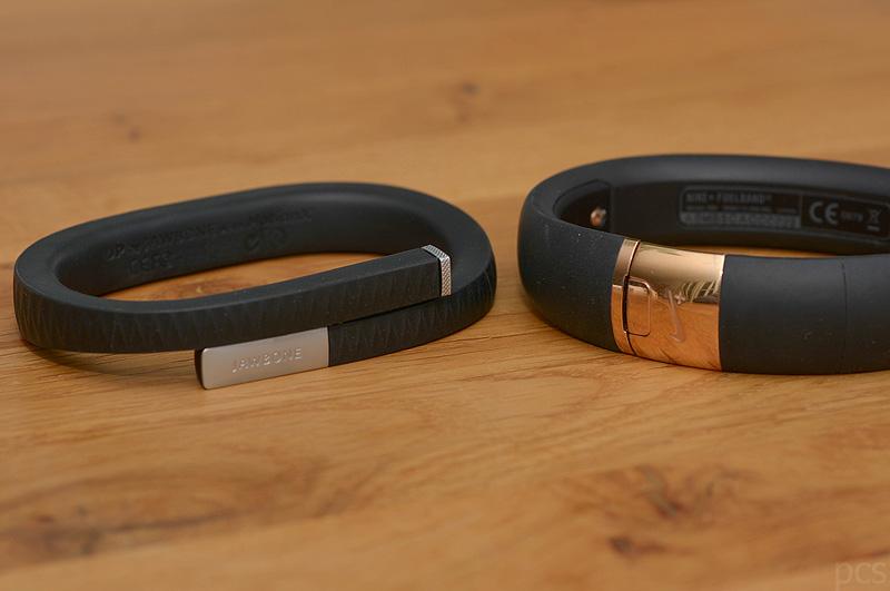 Test: Jawbone Up vs. Nike+ Fuelband SE