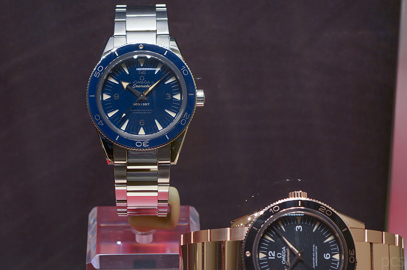 Hands-on Omega Seamaster 300 Master Co-Axial
