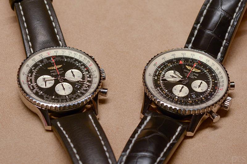 Hands-on Breitling Navitimer 01 XL und Navitimer GMT
