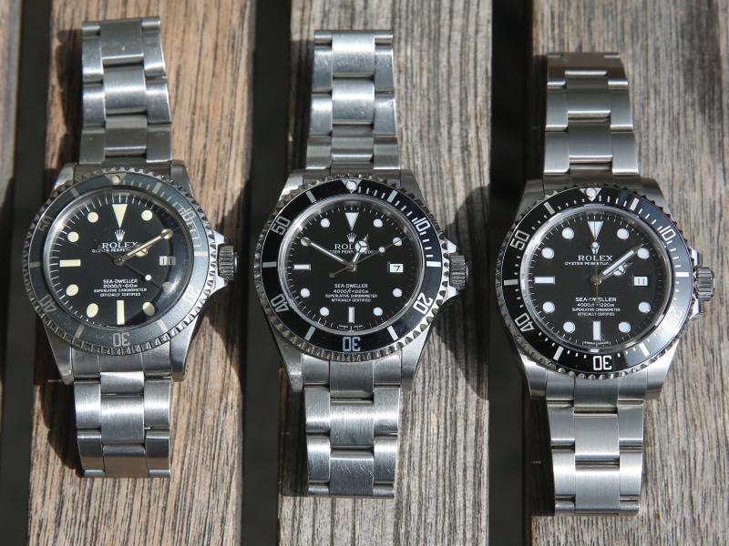 Rolex Sea-Dweller – Vergleich 116600, 16600 & 1665