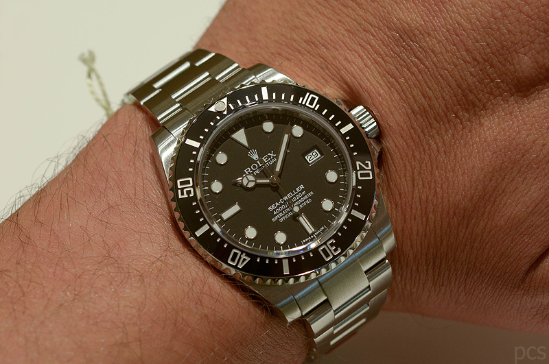 Hands-on Rolex Sea-Dweller 116600