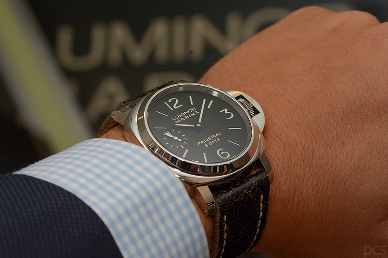 Hands-on 2014 Panerai Luminor 8 Days