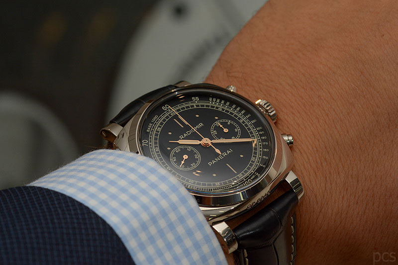 Hands-on Officine Panerai Radiomir 1940 Chronograph 45mm