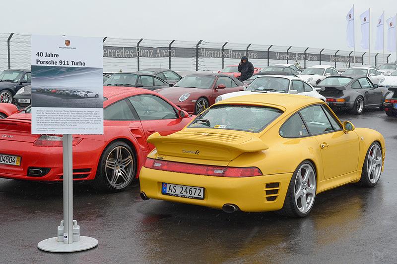 Porsche am Nürburgring – 40 Jahre 911 turbo