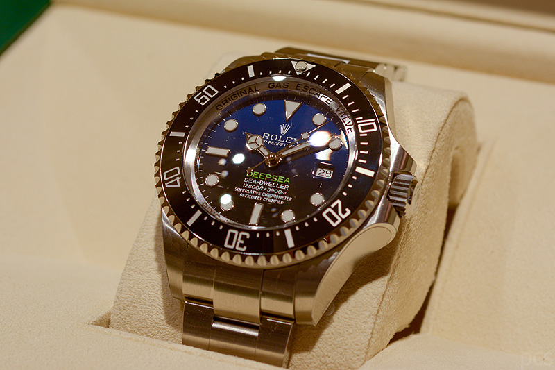 Luxify Review Hands on Rolex Sea-Dweller Deepsea 116660 D Blue