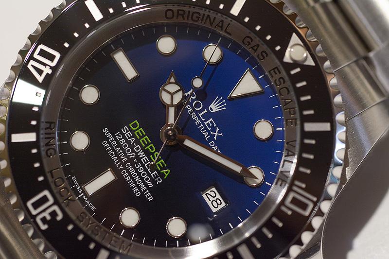 Rolex Deepsea Blue