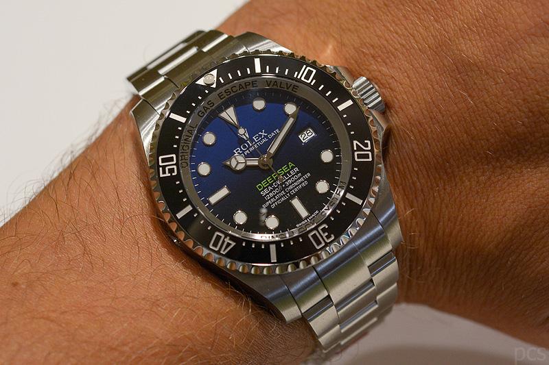 Deepsea Blue, Rolex Deepsea D-Blue, Rolex 116660