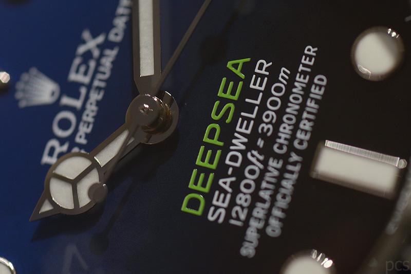 Hands-on 2014 Rolex 116660 Deepsea D-Blue