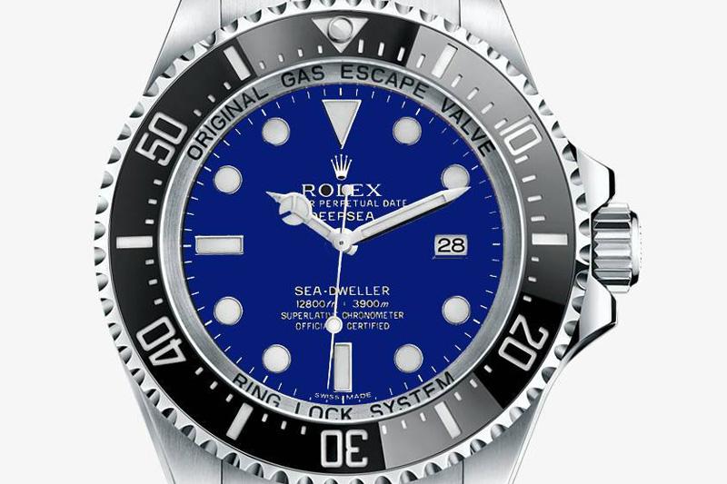 Rolex Deepsea 2014 – blue dial?