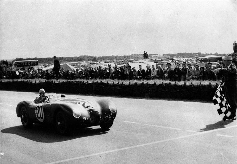 Der C-Type siegte in Le Mans 1951 und 1953