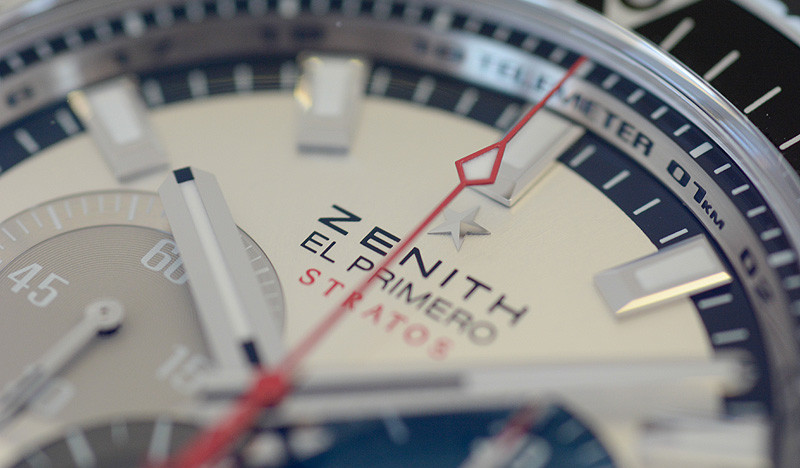 Hands-on Zenith Stratos Felix Baumgartner