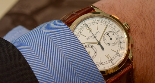 Hands-on Patek Philippe Chronograph 5170J