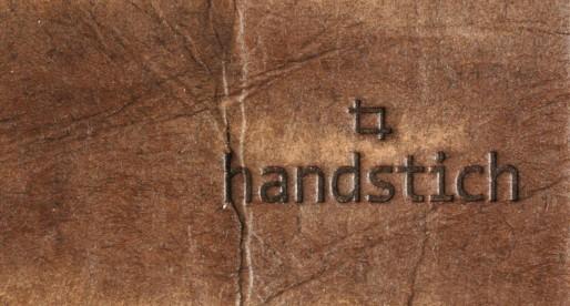 """Handstich – """"handcrafted stuff"""""""