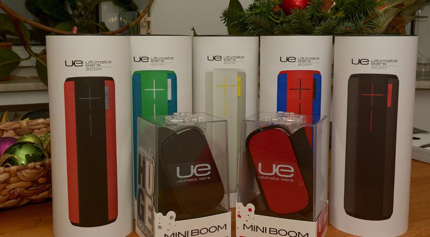 Die Weihnachtsaktion von Ultimate Ears & luxify