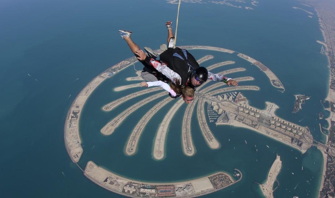 Skydive Dubai – Bada Bing!