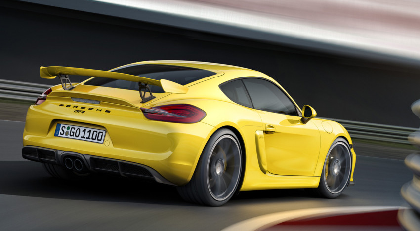 Preview: Porsche Cayman GT4