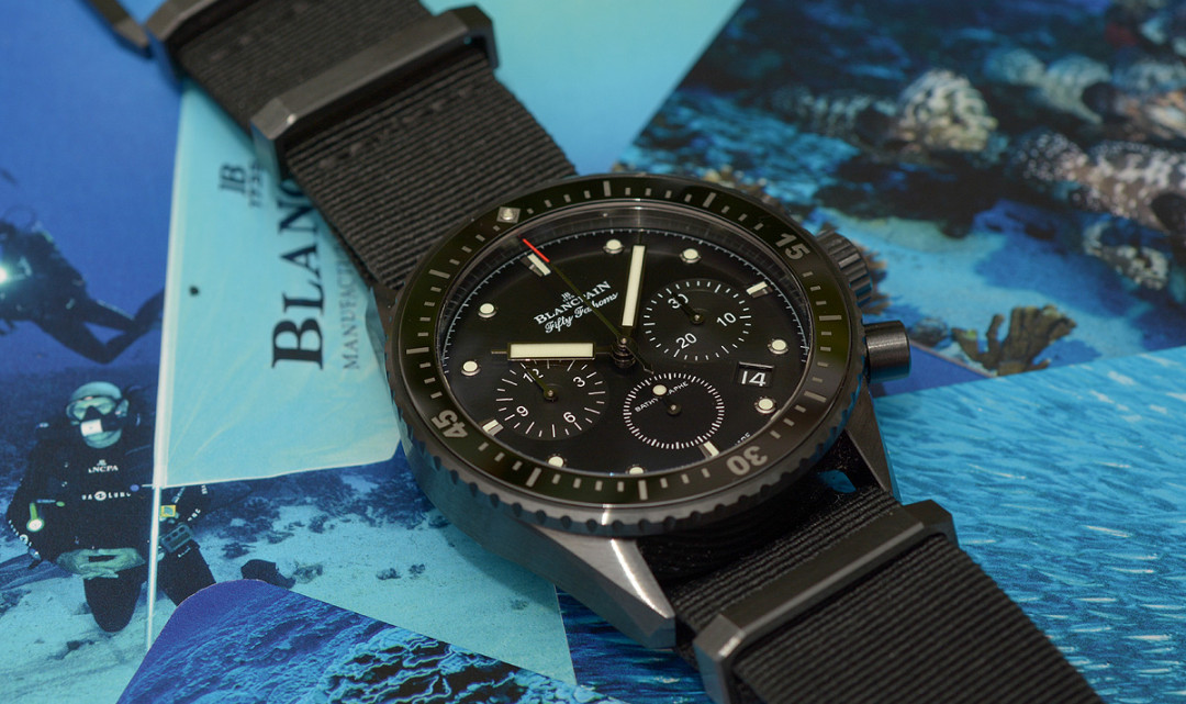 Test: Blancpain Fifty Fathoms Bathyscaphe Chronograph Flyback