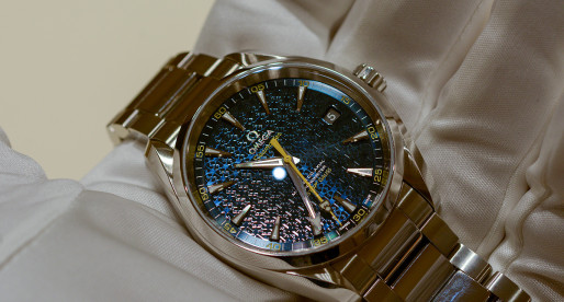 Hands-on Omega Seamaster Aqua Terra James Bond