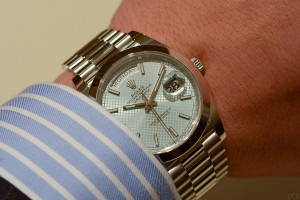 Hands-on Rolex Day-Date 40 Calibre 3255