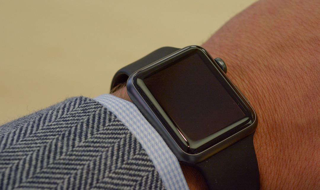 Erstkontakt: Apple Watch