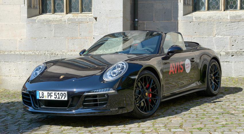 Porsche 911 GTS – die Suche nach der besten Straße