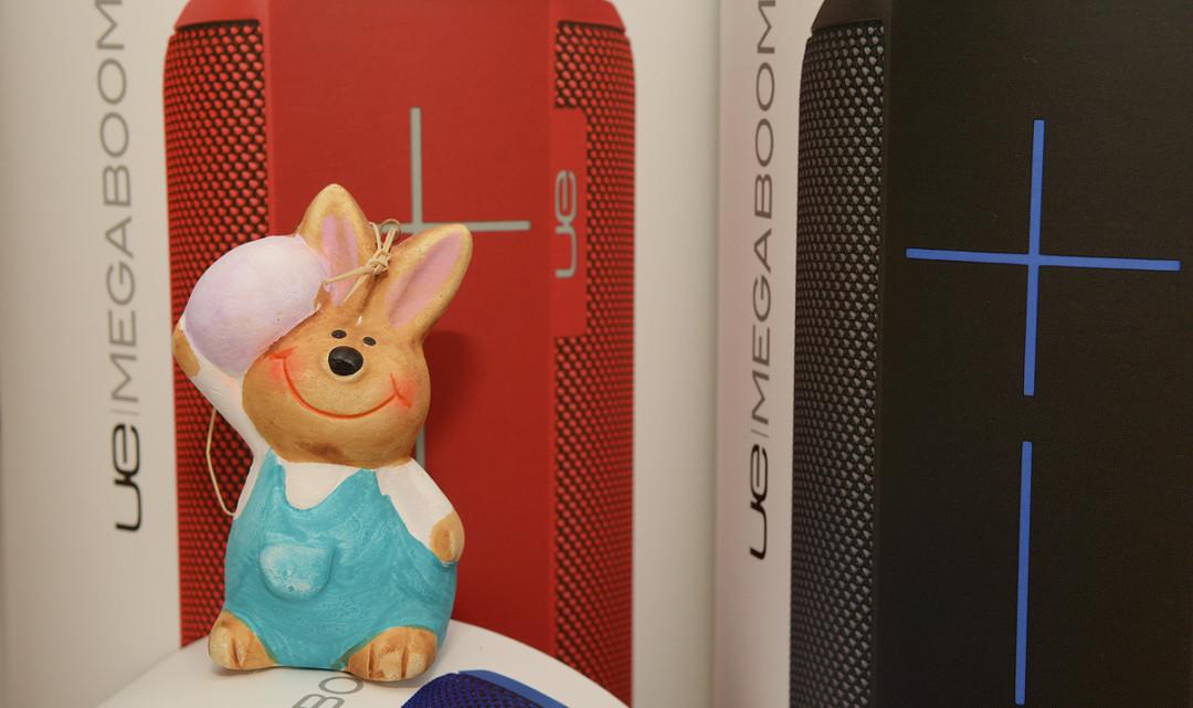 Das Ultimate Ears MEGABOOM Oster-Gewinnspiel