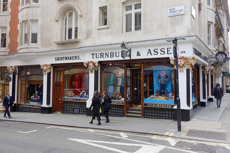 Luxify Shirts Shirtmakers Turnbull & Asser London
