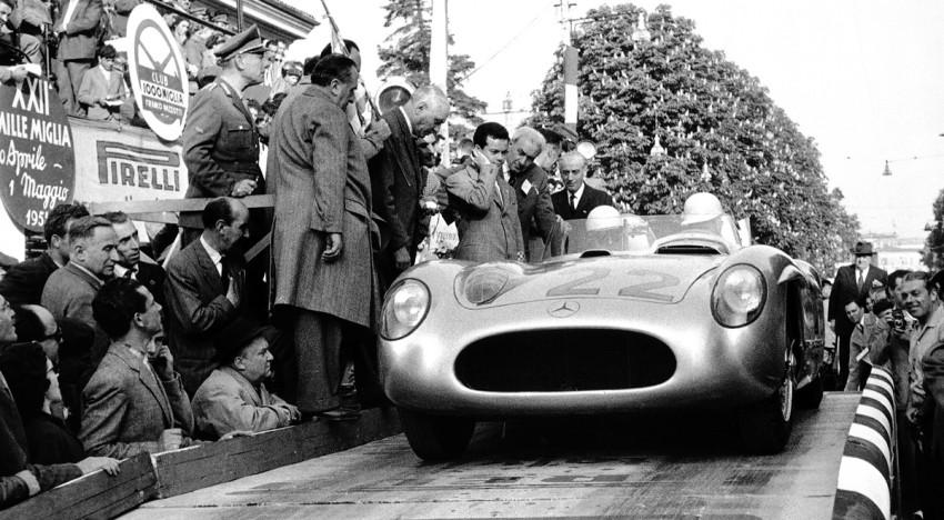 Das epische Rennen: Mille Miglia 1955