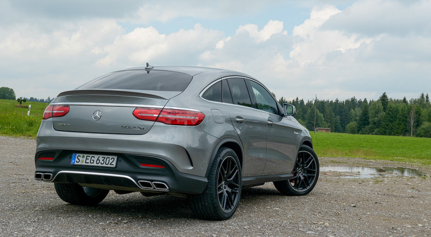 Test: Mercedes GLE & GLE 63s AMG Coupé